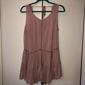 Altar'd State Pink Sleeveless BOHO Dress L